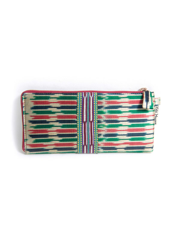 Ikat Wallet with Zipper IK063