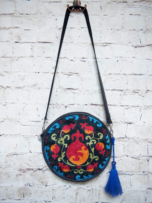 Circular Bag Pomegranate