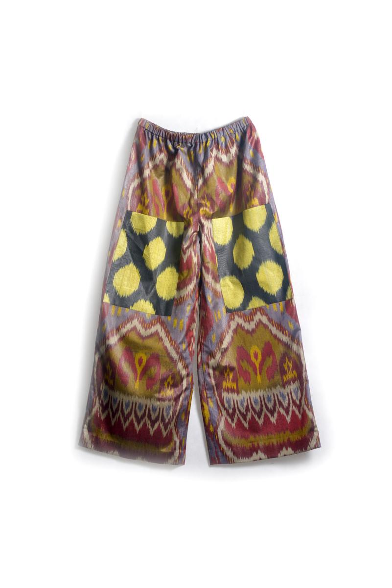 Ikat Pants with Pockets IK045