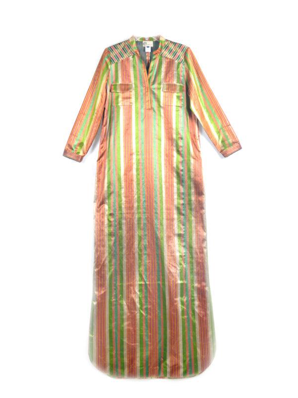 Khadija Silk Ikat Dress IK552