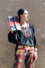 Ikat Clutch with Band IK550 b