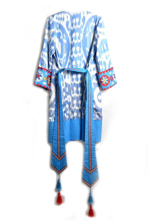 Madina Embroidered Ikat Jacket IK019