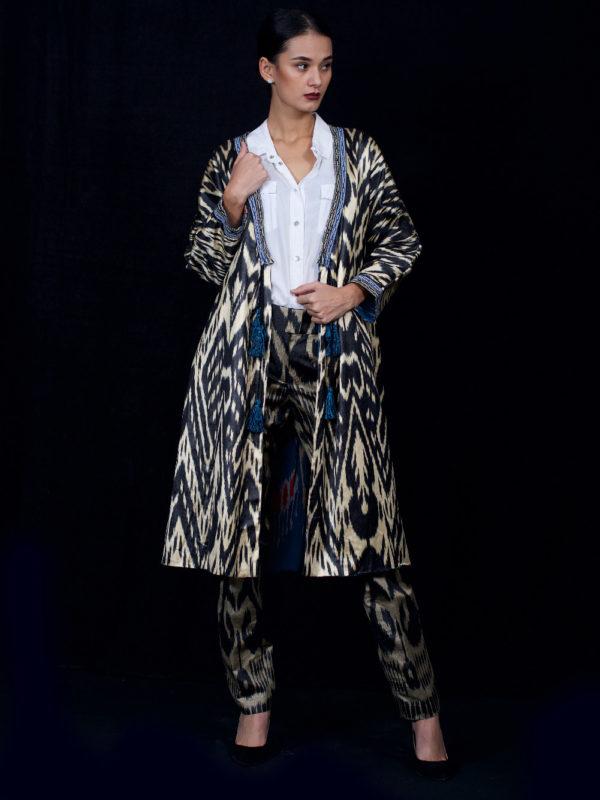 Reversible Ikat Robe IK550A