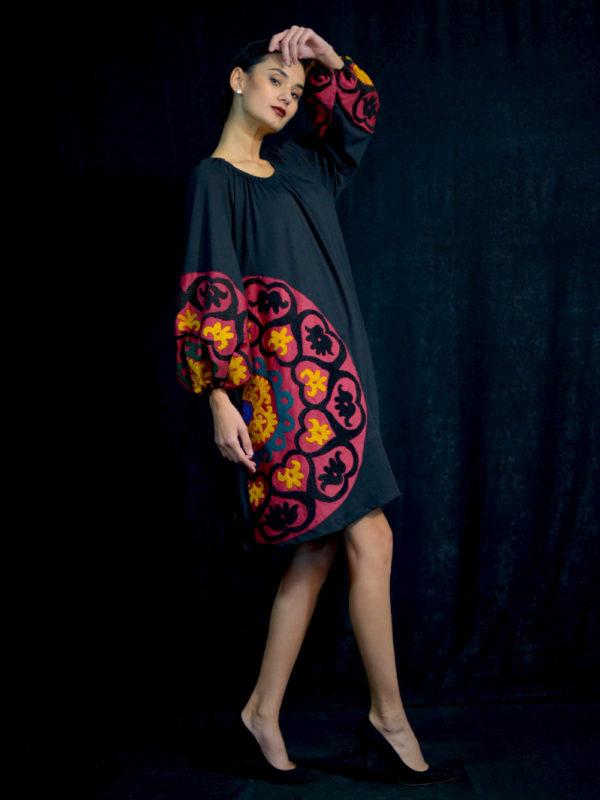 Suzani Swing Dress