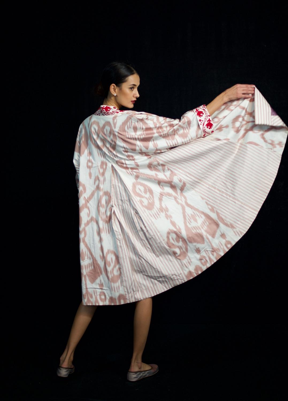 Suzani Ikat Robe