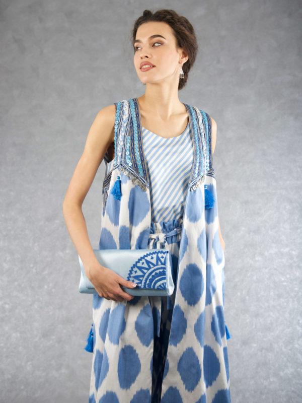 Ikat Decorated Vest