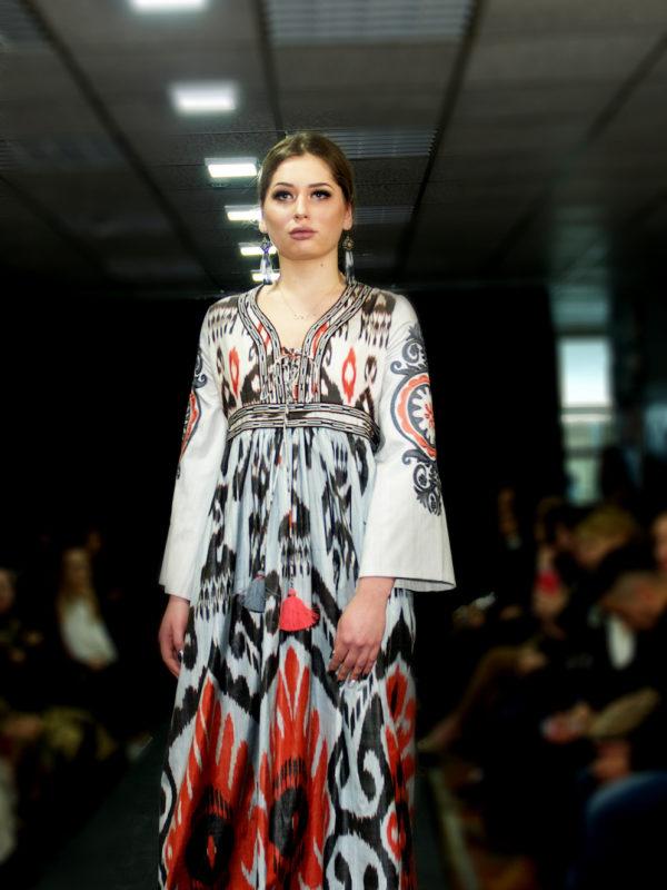 Ayesha Maxi Ikat Fabric