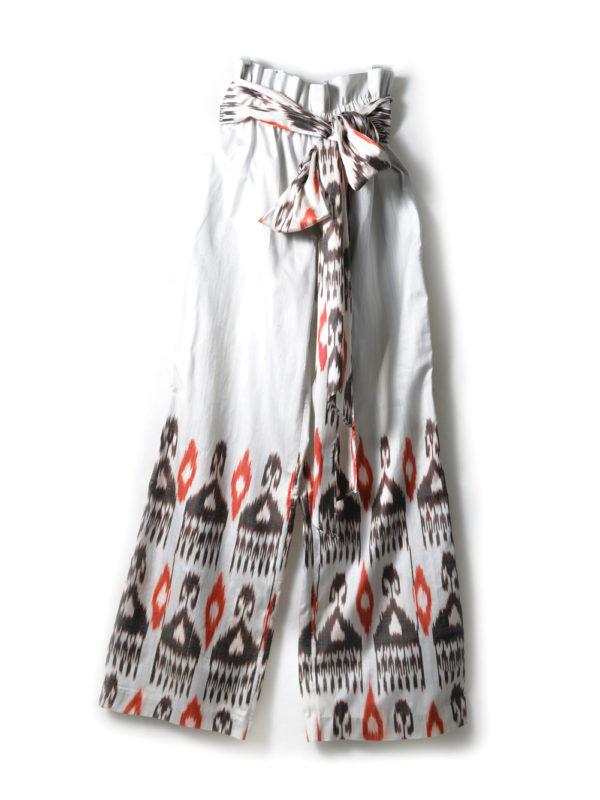 Paperback Ikat Pants with Sash IK562