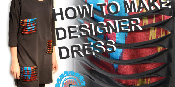 How to make a patch dress