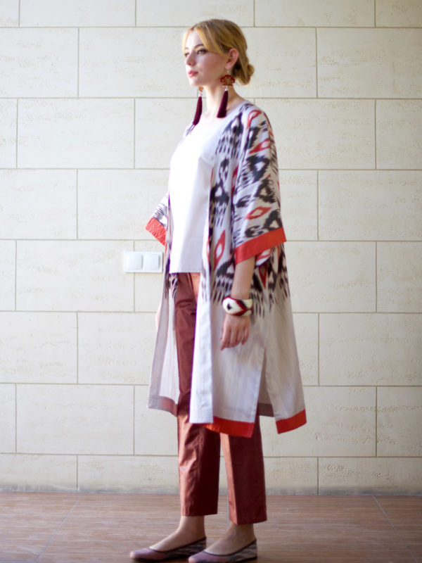 Ikat Light Kaftan