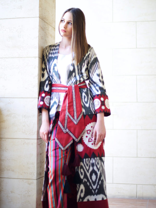 Madina Luxury Ikat Kaftan