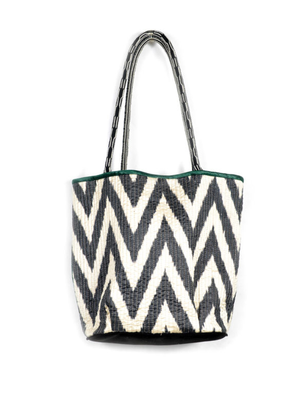 Quilted Ikat Bag