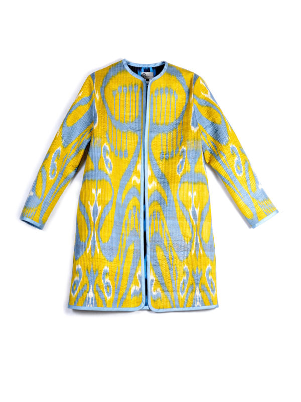 Ginger Quilted Ikat Jacket