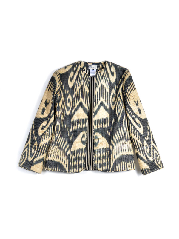 Quilted Ikat Jacket