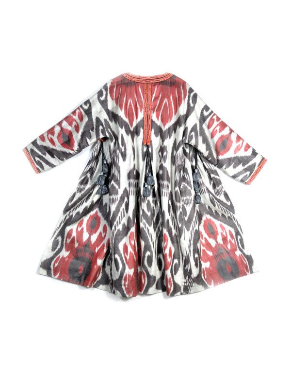 Classic Ikat Chapan Robe