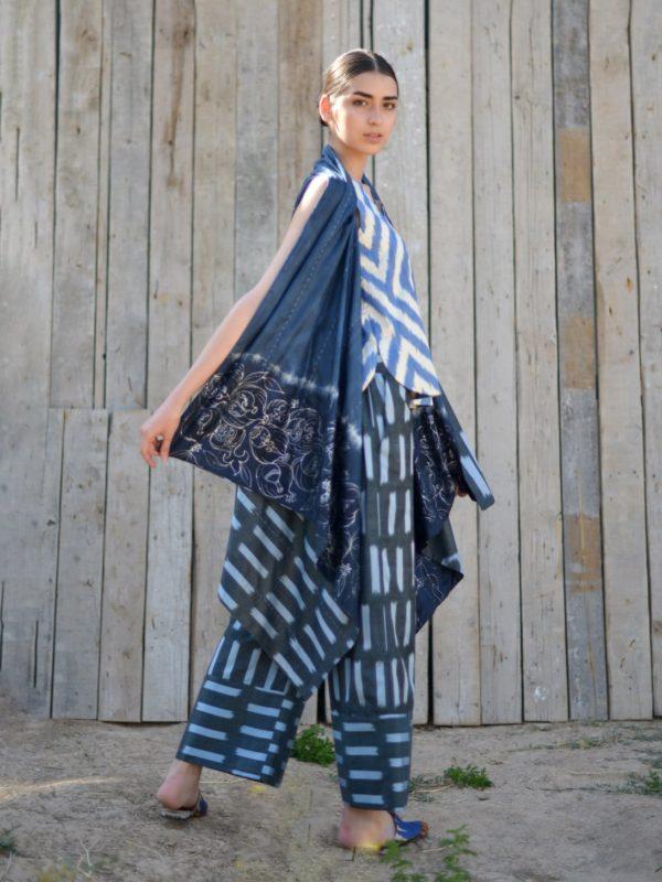 Ikat Batik Vest