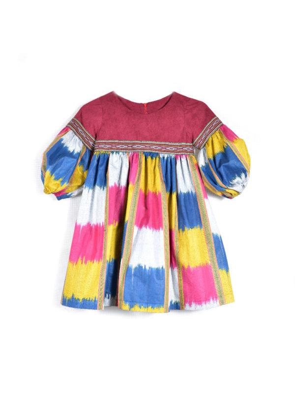 Kids Ikat Dress