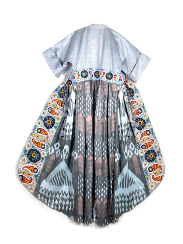 Bushra One-of-a-kind Embroidered Kaftan