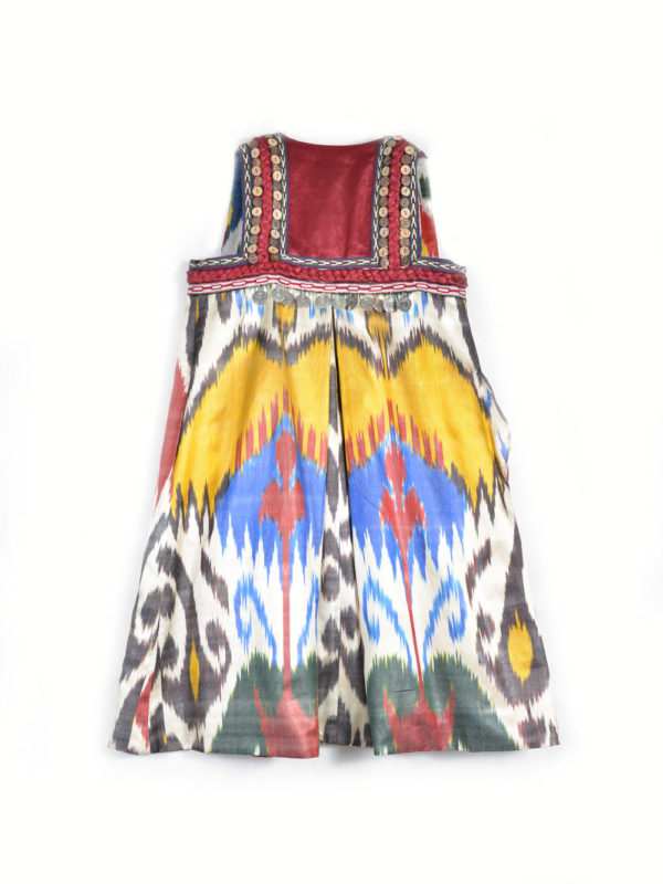 Decorated Ikat Vest for Girls