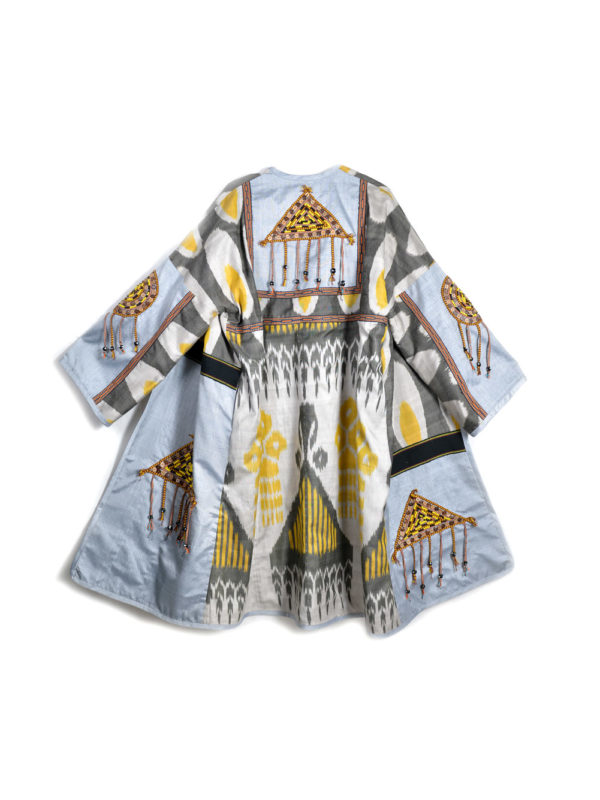 Combo Folk Robe with Talisman Decoration
