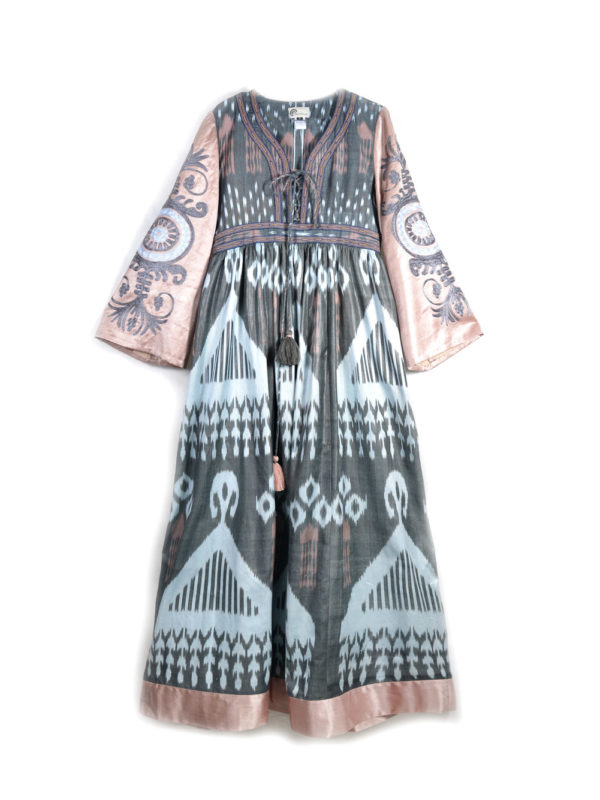 Ayesha Dress with Embroidered