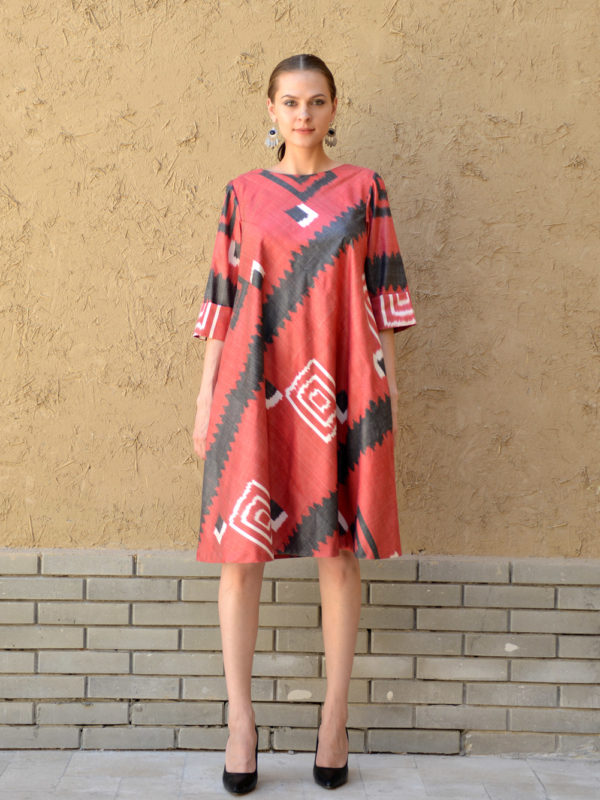 Anar Ikat Dress