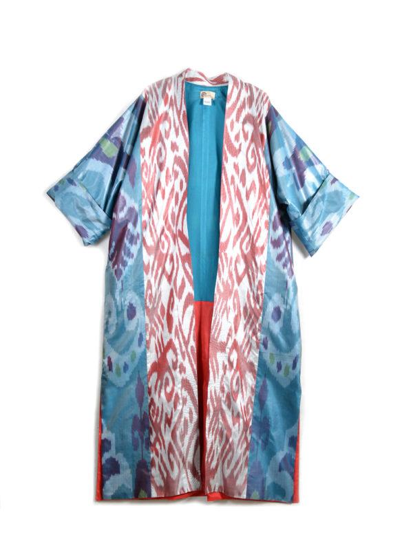 Silk Ikat Robe