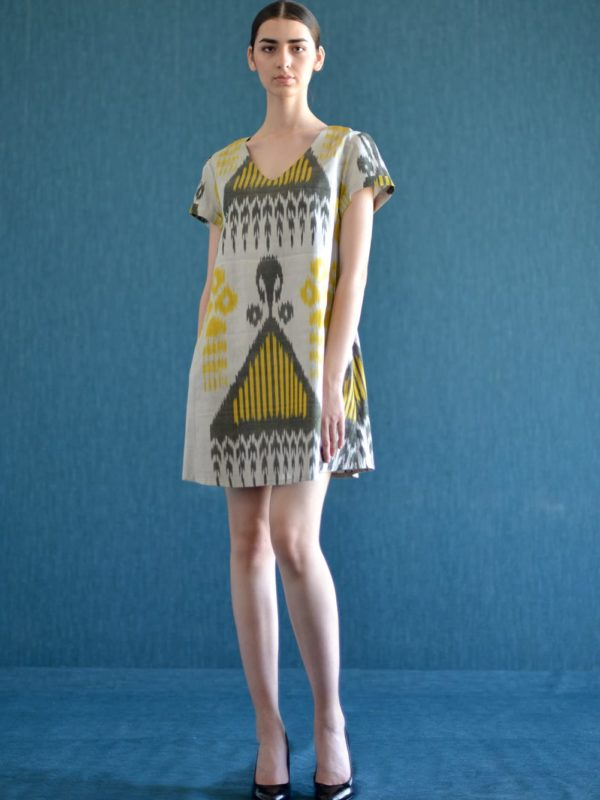 Short Ikat Dress