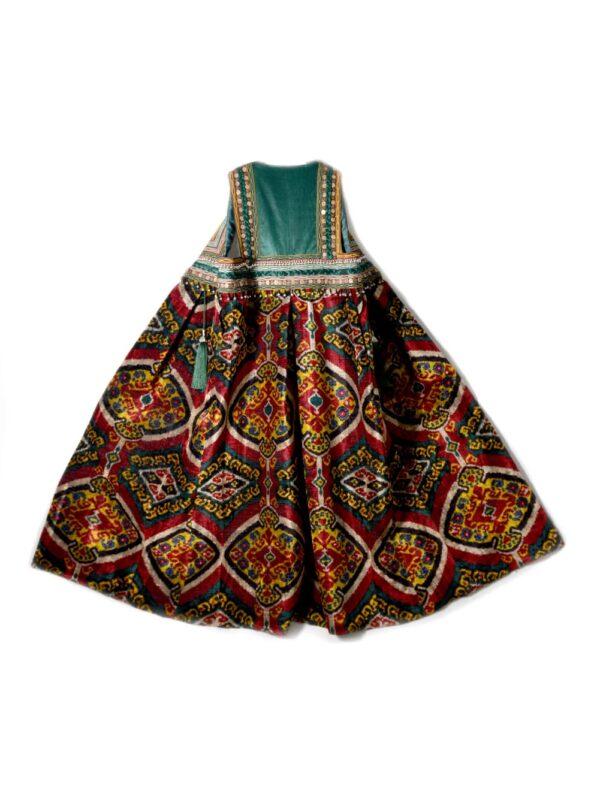 Ikat Velvet Bahmal Vest
